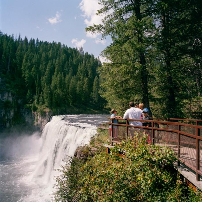 Upper Mesa Falls Overlook, Caribou-Targhee National Forest, ID