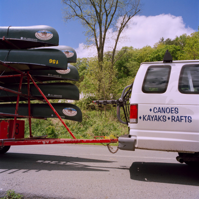 Canoes and Van, Delaware Water Gap National Recreation Area, PA