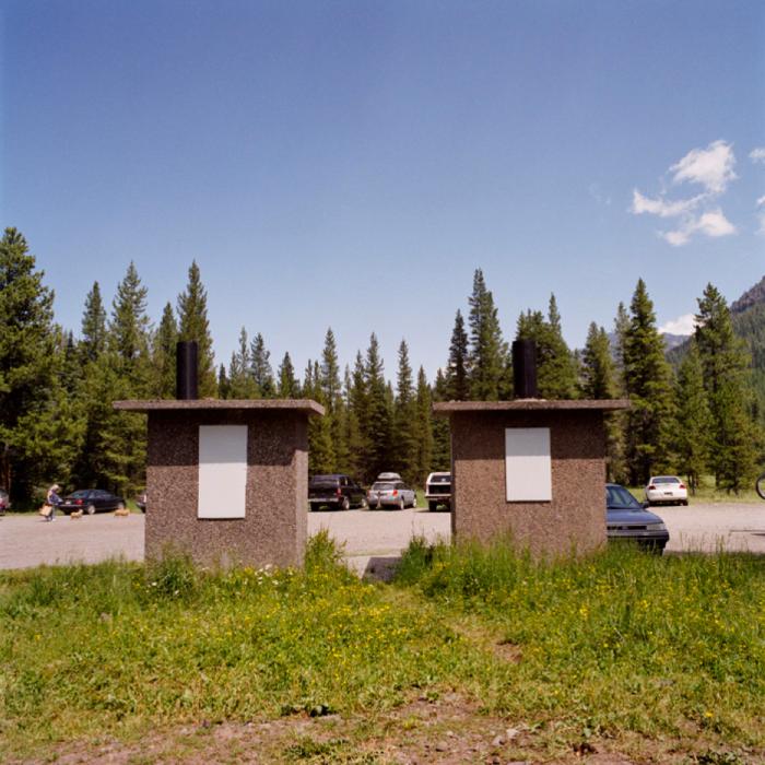Latrines, Gallatin National Forest, MT