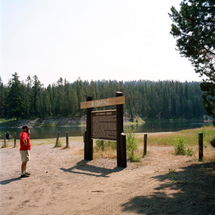Historical Marker, Grand Teton National Park, WY