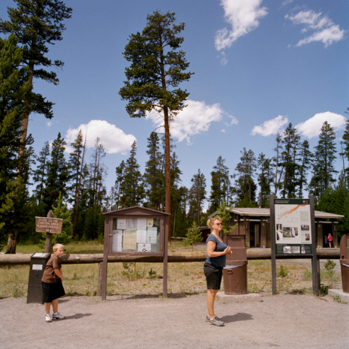 Visitors, Yellowstone National Park, WY