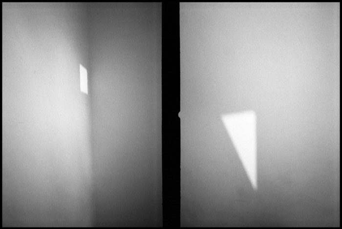 "Included Middle (Suprematist Light), 26.75"" H x 40"" W, Edition of 3, Archival Inkjet print on Baryta paper mounted on aluminum"