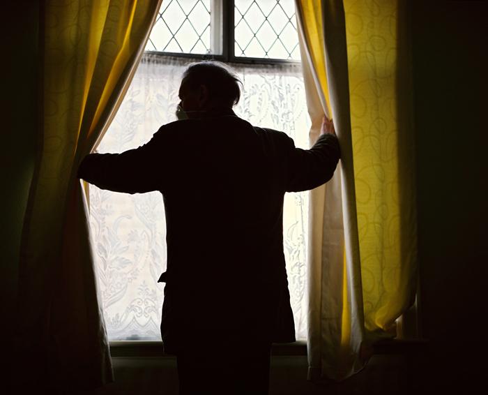 David in his bedroom, 2010