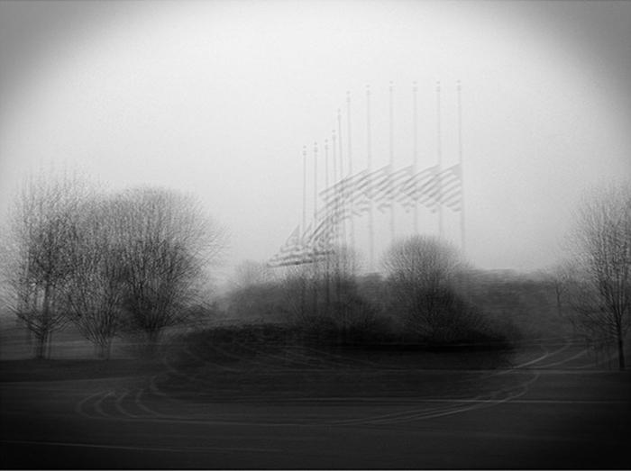 """Half Mast"" by Roman Coia (http://www.romancoiafineart.com)"