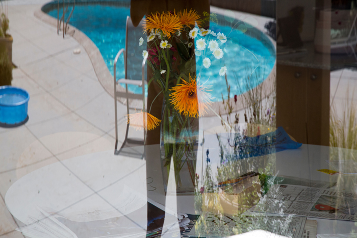 """Reflection. Self Portrait with Pool"" by Richard Levy (http://richardlevy.smugmug.com/)"