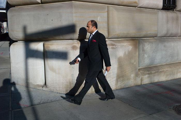 R ed Hanky, Financial District, New York 2012