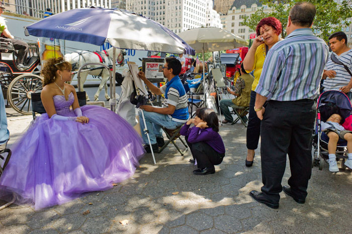 Quinceañera, Central Park, New York 2011
