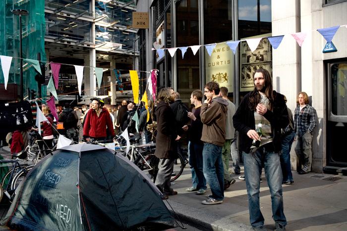 Bishopsgate, G20, 2009