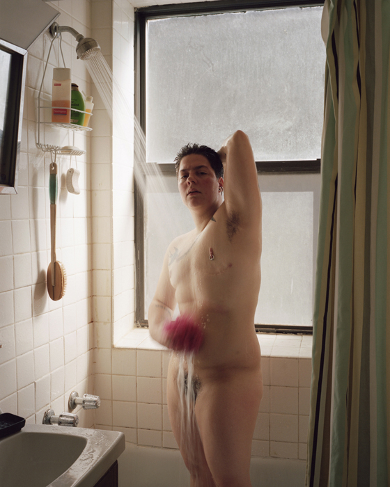 Self-portrait (shower), 2012