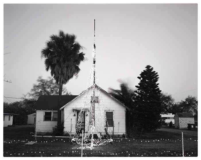 Doyt and Marlene's House at Christmas, 2011 by David McClain