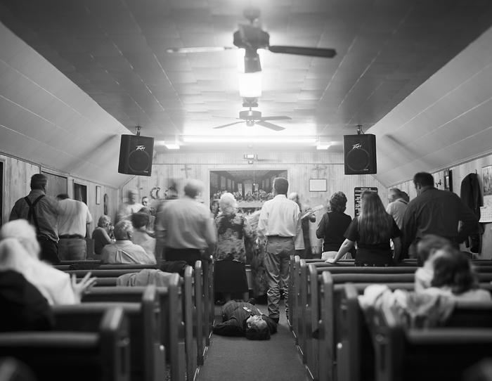 Pentecostal Service, Jolo WV 2004