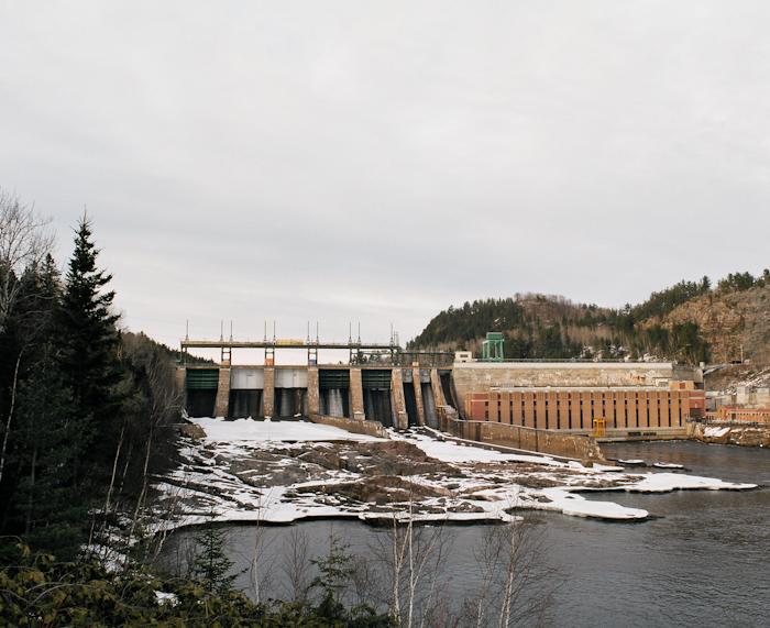Barrage de La Tuque, 2010
