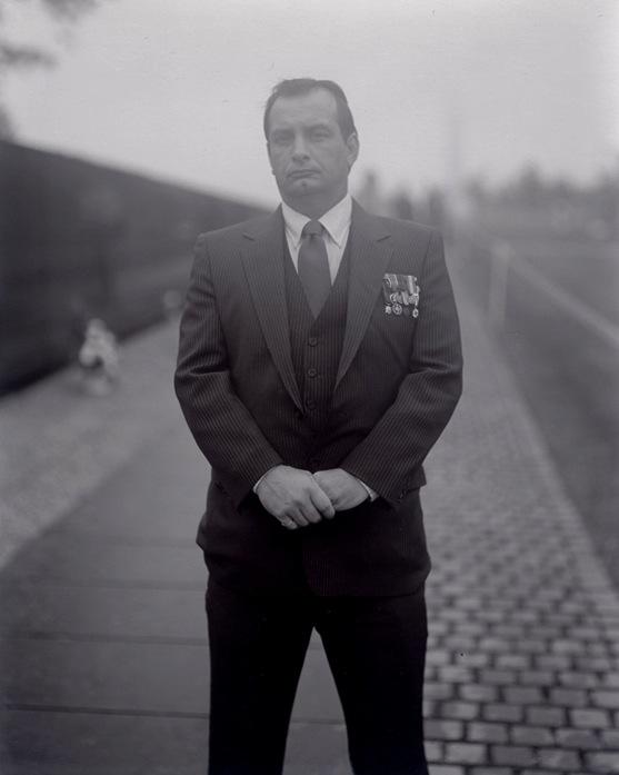 Untitled, Portraits at the Vietnam Veterans Memorial, Washington, D.C., 1984