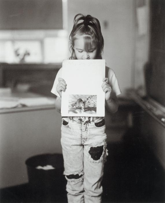 Tara Schwenk's Book Report, My Dog Gets Hurt, A.D. Thomas Elementary School, Hazleton, Pennsylvania, 1993