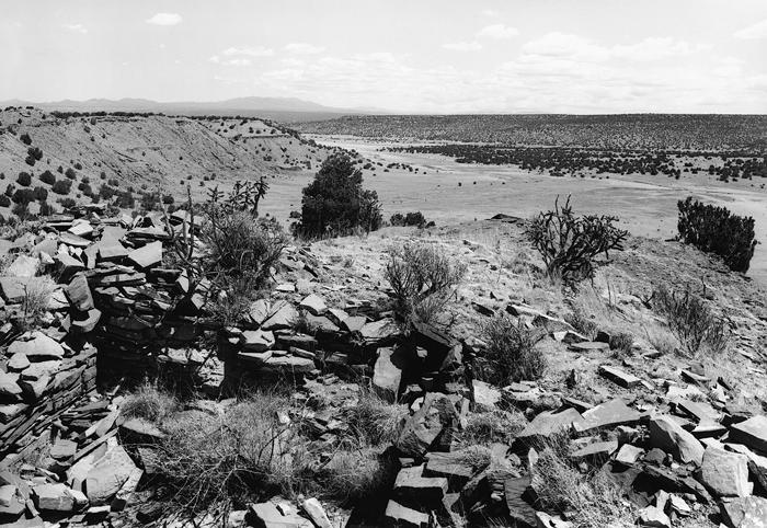 Pueblo Largo, Galisteo Basin, N.M. 1999
