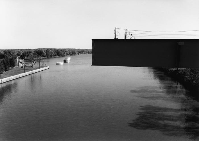 Illinois River at Marseilles, Illinois 1996