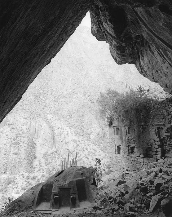 Choquequilla Cave, Peru, 1975