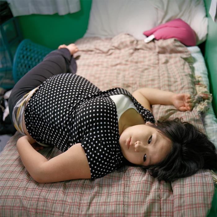 Jami in Her Bedroom, 8 Months (2011)