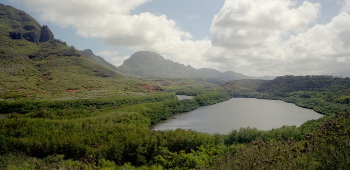 Menehune Fishpond, Kauai, 2011