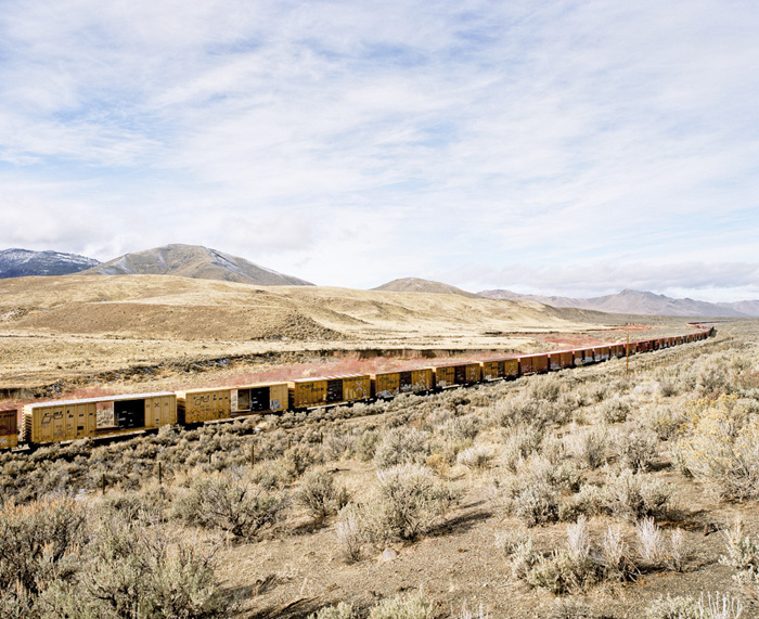 Nevada – California Border