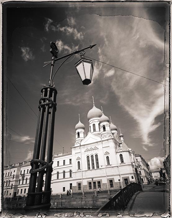 Ukrainian Church, St. Petersburg, Russia