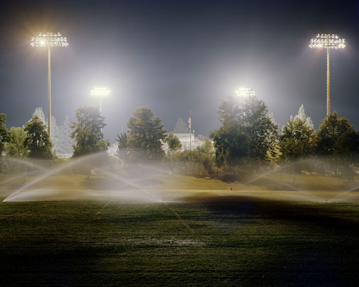 Friday night game at Merced High School. Merced, CA 2010
