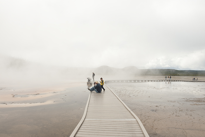Grand Prismatic Spring, Midway Geyser Basin, 2009