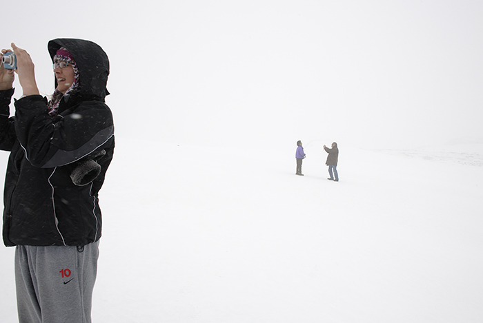 Whiteout on Beartooth Pass in June, 2010