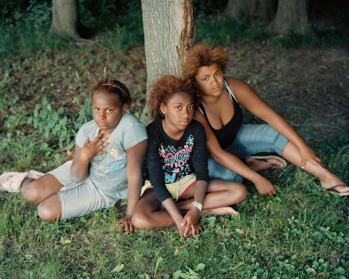 Girls In Park, Syracuse, N.Y.