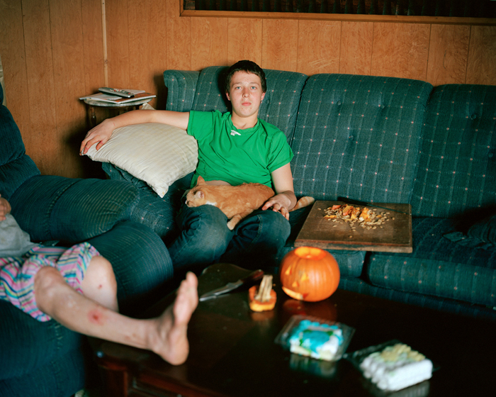 Boy With Pumpkin, Va.