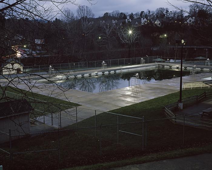 Pool at Azalea Park, Swannanoa River, Asheville, North Carolina