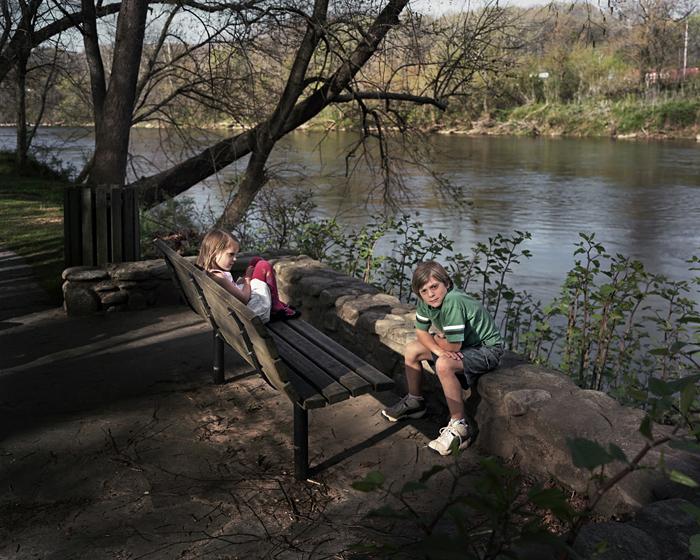 Benjamin & Katie, French Broad River, Asheville, North Carolina