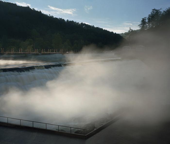 Ocoee TVA Dam #2, Ocoee River, Tennessee