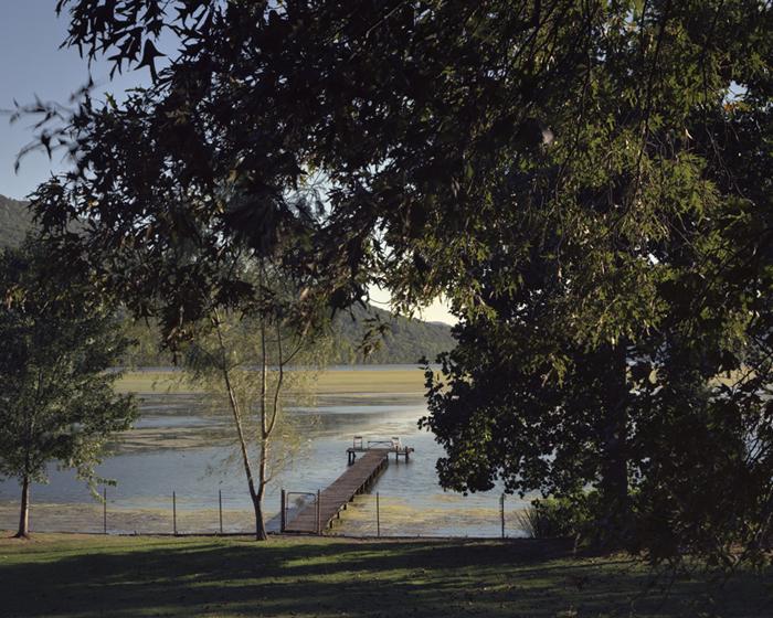 Algae Bloom on Bennett Lake, Tennessee River