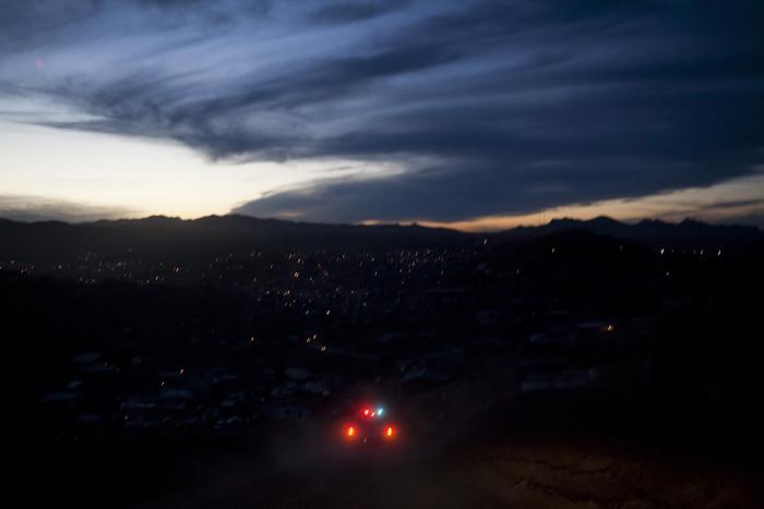 Police Lights (Nogales, Sonora 2007)