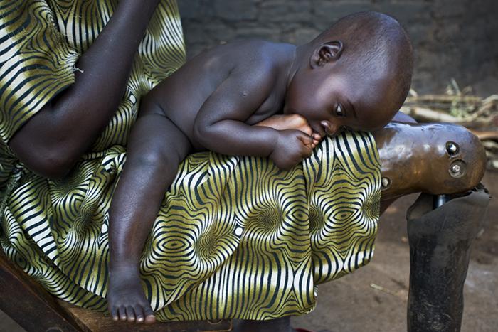 Alema Rose, Aler IDP Camp, 2006