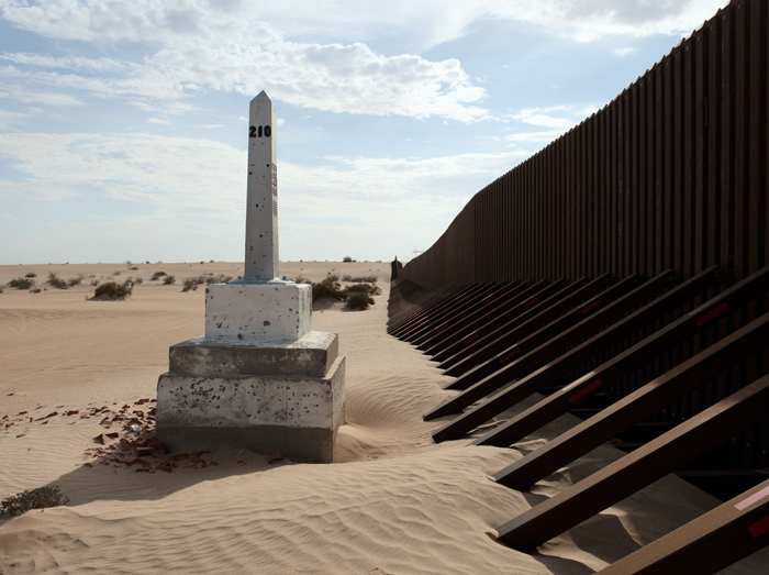 Border Monument No.210 - N 32° 42.352' W 114° 54.596'