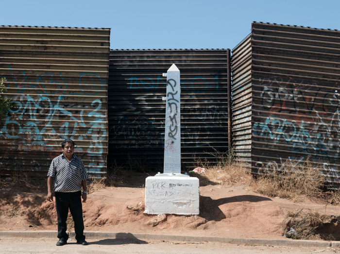 Border Monument No.245 - N 32° 34.420' W 116° 39.528'