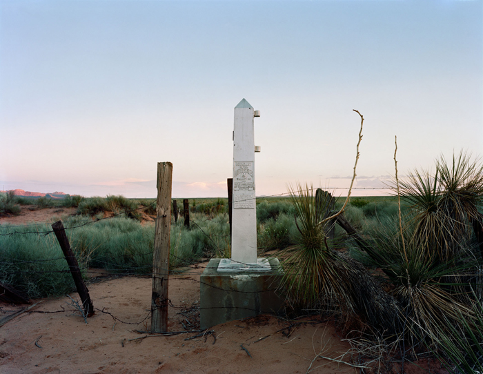 Border Monument No.4 - N 31° 47.034' W 106° 39.738'