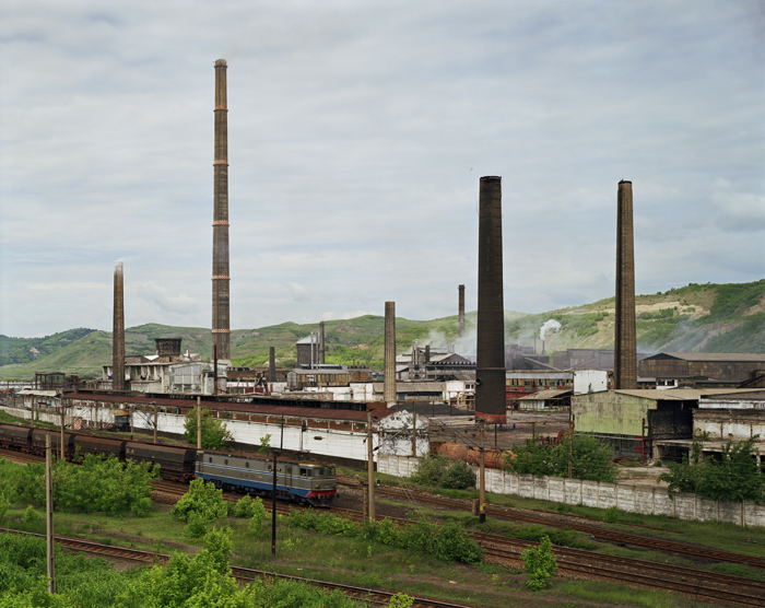 Factory, Copsa Mica, Transylvania, Romania