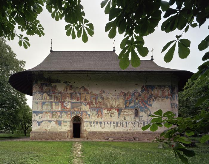 Arbore Monastery, Bucovina, Romania