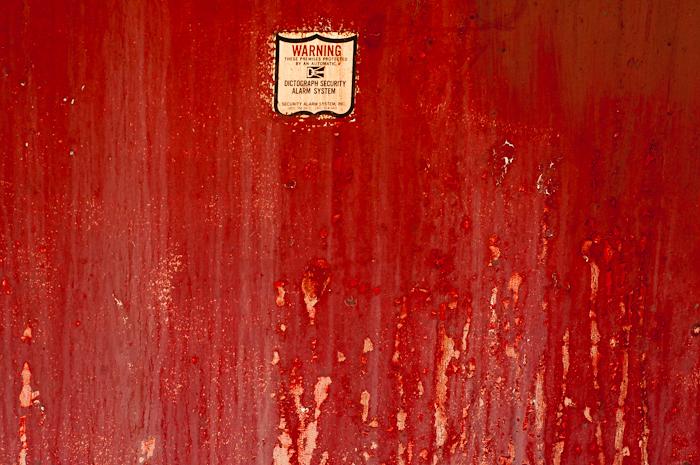 Red Equipment Access Door, Greeley, CO