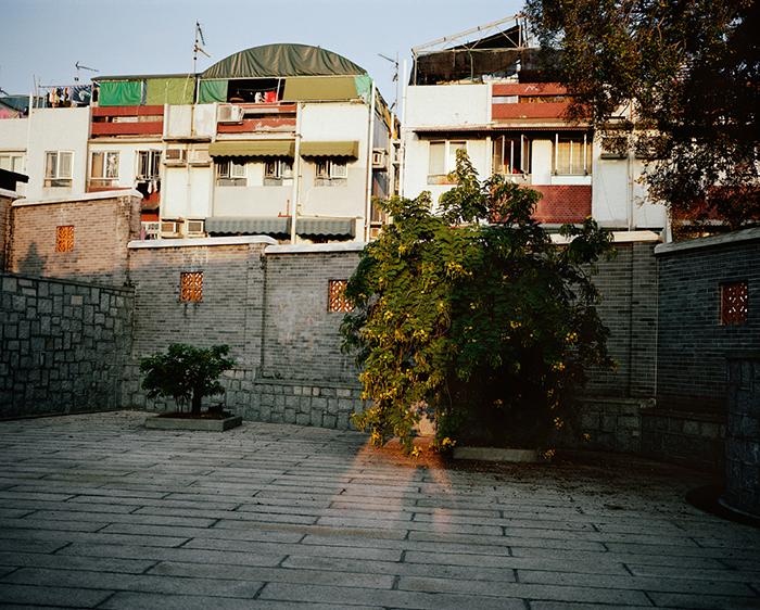 Behind a Temple, Cheung Chau, 2008