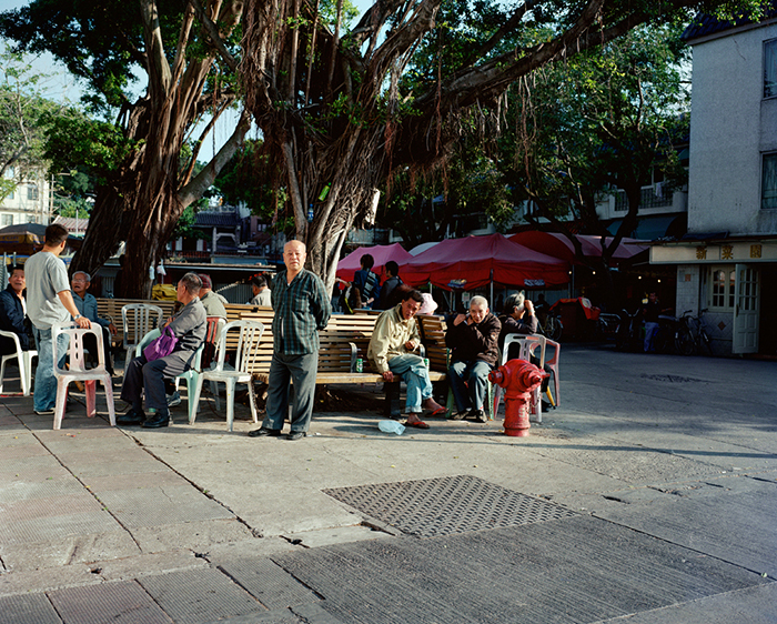 Main Square, Cheung Chau, 2008