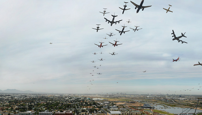 """Seventy Flights in Ninety Minutes, Phoenix"" by D. Bryon Darby (http://www.bryondarby.com)"