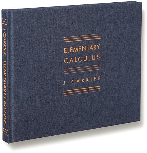 Leo Hsu reviews Elementary Calculus