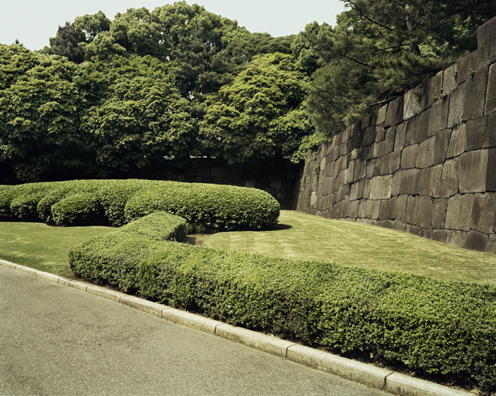 Imperial Palace Gardens with Stone Wall, Tokyo, 2006
