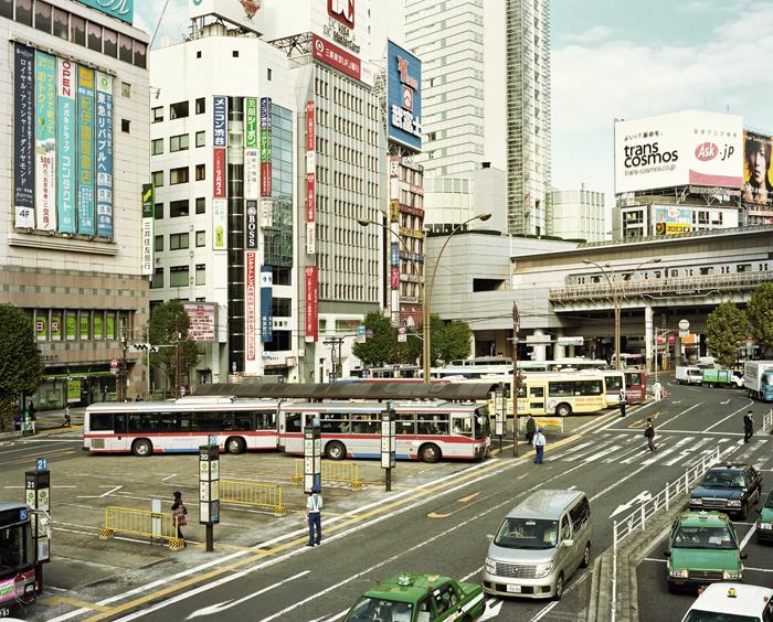 Morning in Shibuya, Tokyo, 2009
