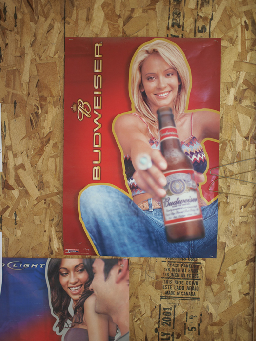 Belgian beer poster, Canadian pressboard & Spanish Instructions