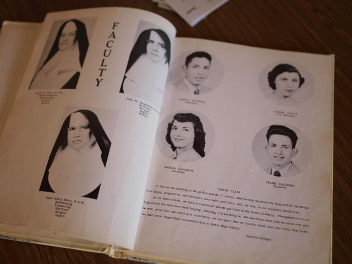 The 1953 Mercy High School Yearbook